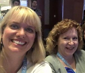 Natalie & Laura at Podcast Movement 2016
