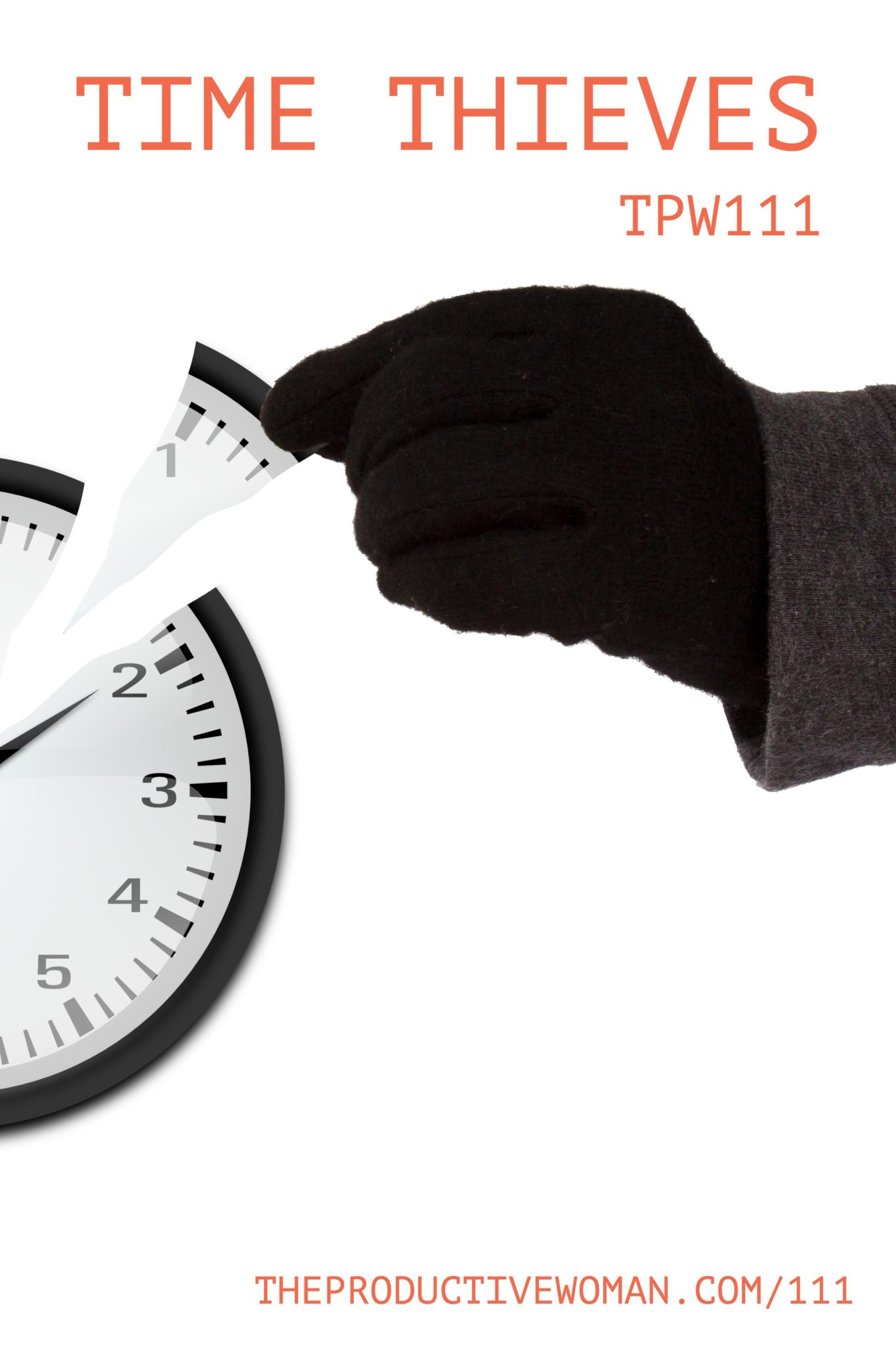 In episode 111 of The Productive Woman, we look at time thieves--external and internal--that steal time we would otherwise spend on what really matters to us. Find it at TheProductiveWoman.com/111.