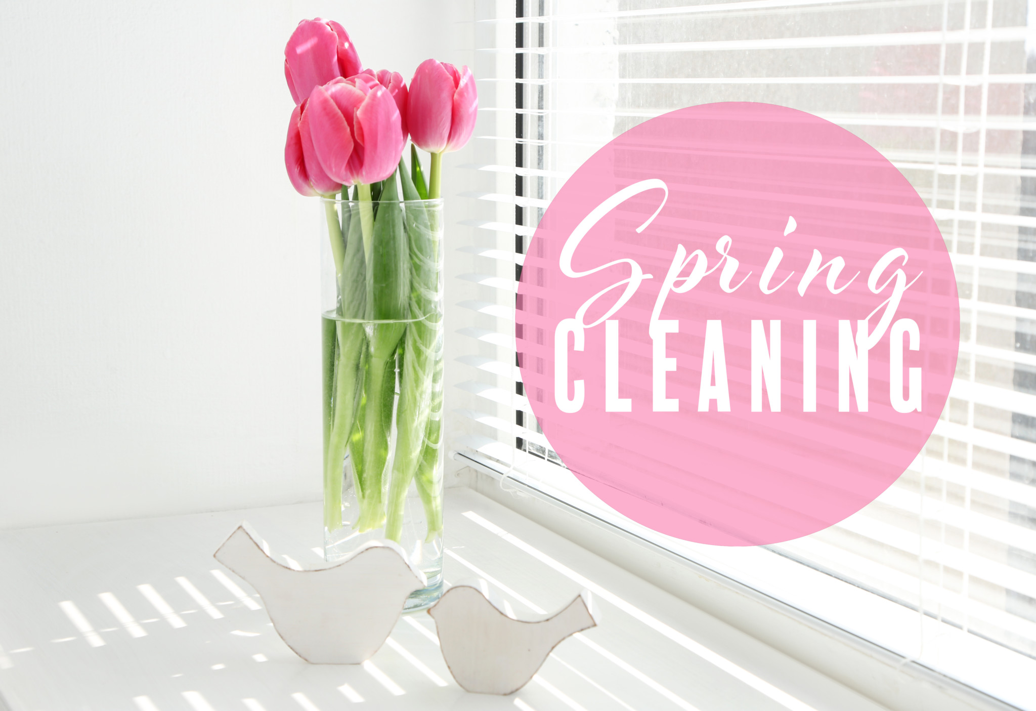 making time for spring cleaning